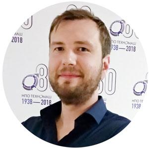 Сергей Пашин, сооснователь компании Fora Robotics, роботов собирает в свободное от науки время.